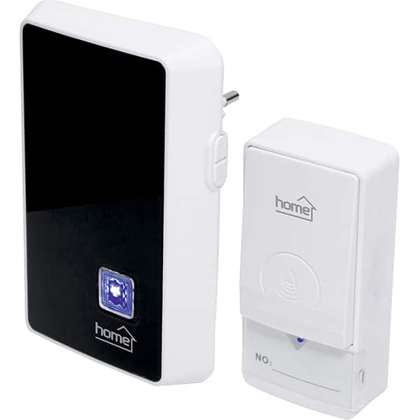 Sonerie wireless HOME DBK 1000AC, 100m, negru-alb