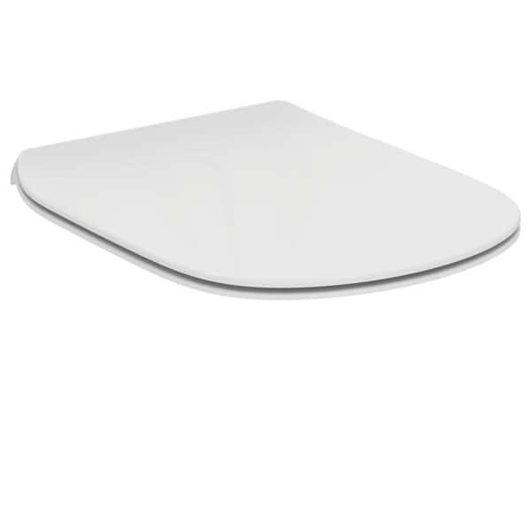 Capac WC IDEAL STANDARD Tesi T352801, duroplast, alb