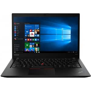 "Laptop LENOVO ThinkPad T490s, Intel Core i7-8565U pana la 4.6GHz, 14"" Full HD, 16GB, SSD 1TB, Intel UHD Graphics 620, Windows 10 Pro, LTE, negru"