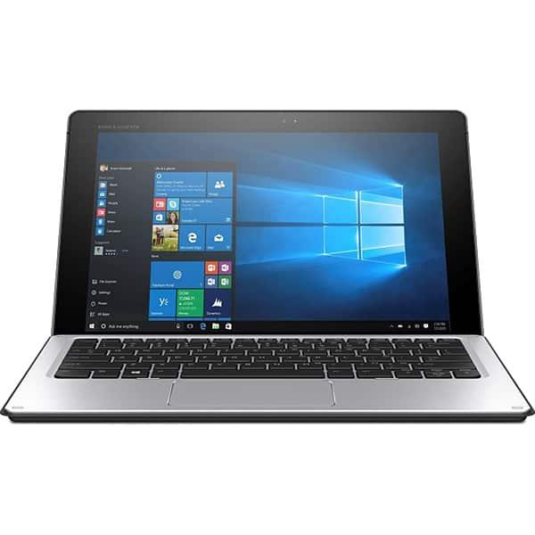 Laptop 2 in 1 HP Elite x2 1012 G1, Intel® Core™ m7-6Y75 pana la 3.1GHz, 12 WUXGA+, 8GB, SSD 512GB, Intel® HD Graphics 515, Windows 10 Pro, Argintiu