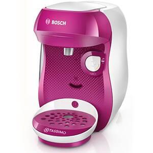 Espressor BOSCH Tassimo Happy TAS1001, 0.7l, 1400W, roz