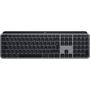 Tastatura Wireless pentru Mac LOGITECH MX Keys, USB, Bluetooth, US INT, negru-gri
