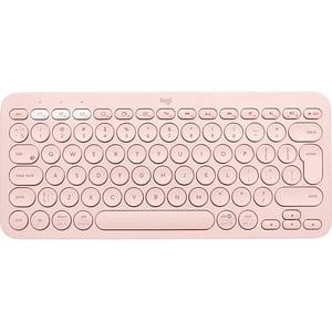Tastatura Wireless LOGITECH K380, Bluetooth, Layout US INT, roz