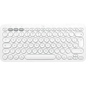 Tastatura Wireless LOGITECH K380 Multi-Device MAC, Bluetooth, Layout US INT, alb