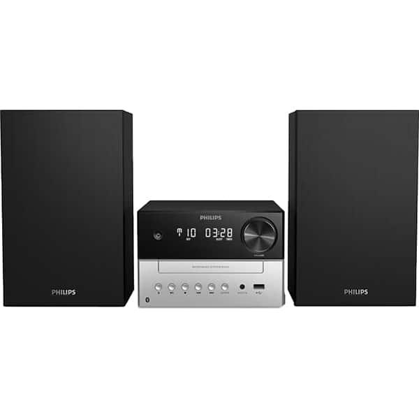 Microsistem PHILIPS TAM3205/12, 18W, Bluetooth, Radio, negru