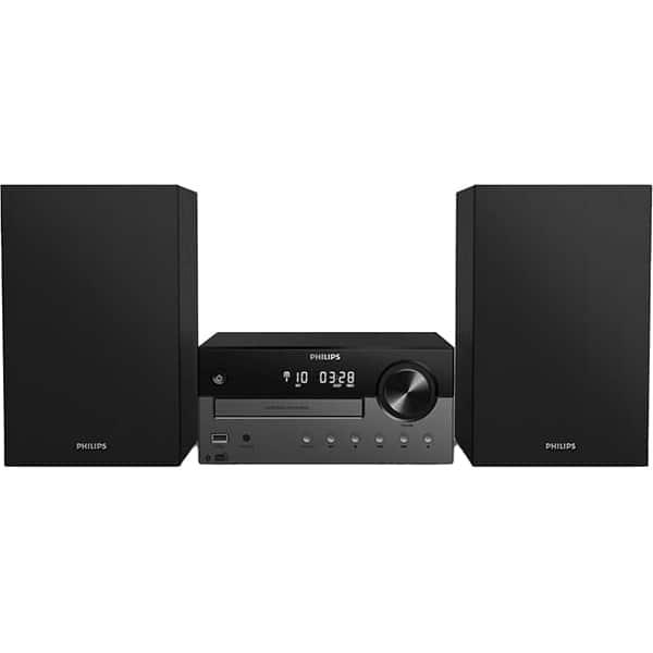 Microsistem audio PHILIPS TAM4505/12, 60W, Bluetooth, USB, CD, Radio FM, negru