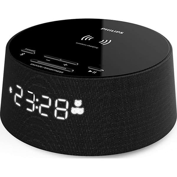 Ceas cu alarma PHILIPS TAPR702/12, Bluetooth, Incarcator telefon, negru