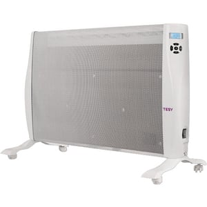 Convector electric de podea TESY MC 20112, 3 trepte putere, 2000W, Telecomanda, alb