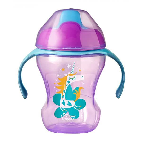Cana TOMMEE TIPPEE Explora Easy Drink, 6 luni +, 230 ml, mov