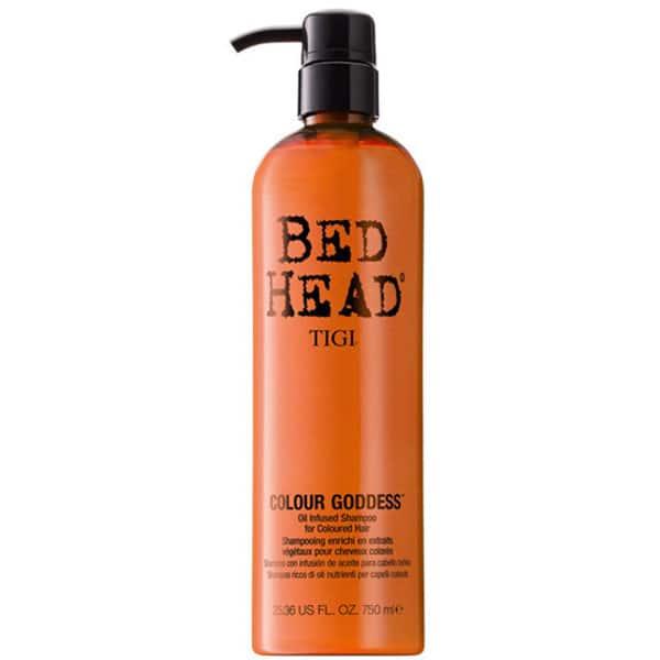 Sampon TIGI Bed Head Colour Goddess, pentru par vopsit, 750ml