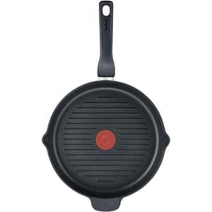 Tigaie grill TEFAL XL Force C6854055, 26cm, aluminiu, negru