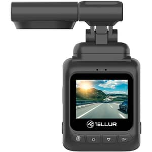 "Camera auto DVR TELLUR Dash Patrol DC2, FUll HD, 1.5"", G-Senzor, GPS"