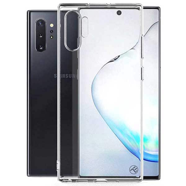 Carcasa pentru Samsung Galaxy Note 10 Plus, TELLUR Basic, TLL121136, silicon, transparent