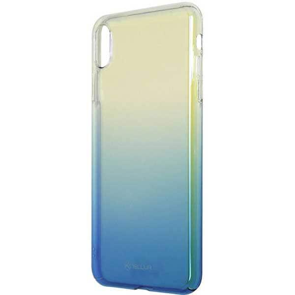 Carcasa pentru Apple iPhone Xs Max, TELLUR Jade, TLL121475, silicon, albastru