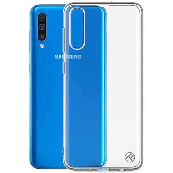 Carcasa pentru Galaxy A50, TELLUR TLL121995, silicon, transparent