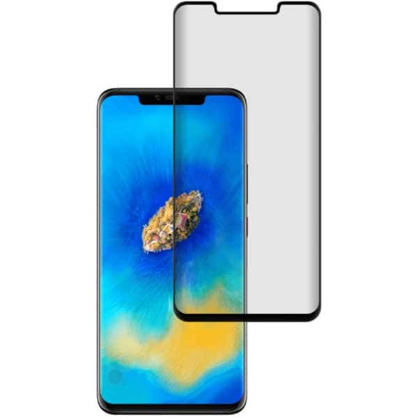 Folie Tempered Glass pentru Huawei Mate 20 Pro, TELLUR Full Glue, TLL145163, 3D, negru