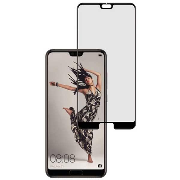 Folie Tempered Glass pentru Huawei P20 Pro, TELLUR Full Glue, TLL145183, 3D, negru