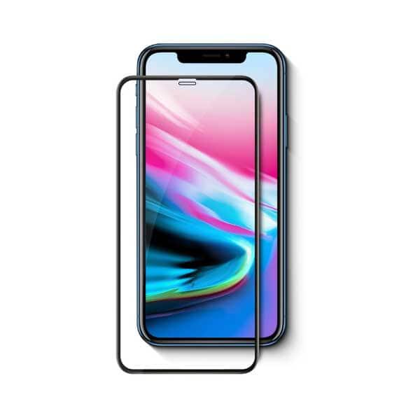 Folie Tempered Glass pentru Apple iPhone 11 Pro Max, TELLUR Full Glue, TLL145293, 3D, negru