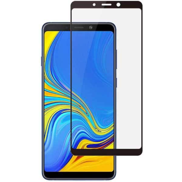 Folie Tempered Glass pentru Samsung Galaxy A9 2018, TELLUR Full Glue, TLL145325, 2.5D, negru