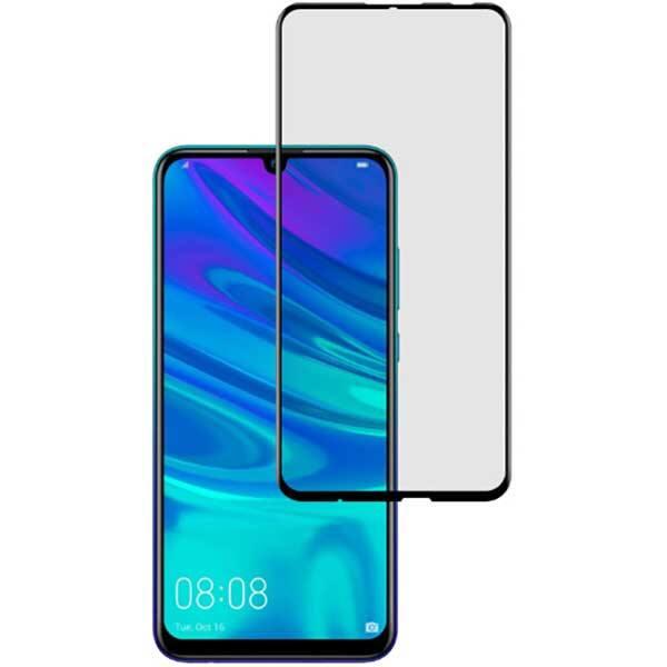 Folie Tempered Glass pentru Huawei P Smart 2019, TELLUR Full Glue, TLL145405, 2.5D, negru