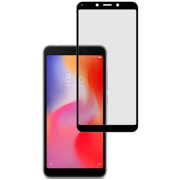 Folie Tempered Glass pentru Xiaomi Redmi 6/6A, TELLUR Full Glue, TLL145545, 2.5D, negru