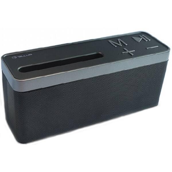Boxa portabila TELLUR Electra TLL161061, Bluetooth, Radio FM, USB, MicroSD, negru