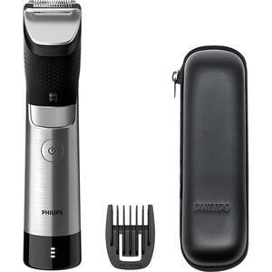 Aparat de tuns barba PHILIPS Prestige 9000 BT9810/15, acumulator, 120 min autonomie, argintiu