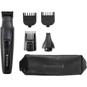Aparat de tuns barba REMINGTON 5in1 Graphite Series G2 PG2000, acumulator, 40 min autonomie, negru