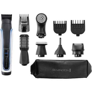 Aparat de tuns barba REMINGTON 10in1 Graphite Series G6 PG6000, baterie, 90 min autonomie, negru