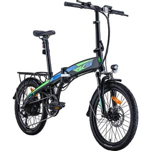 Bicicleta electrica RKS TNT-5, 20 inch, negru