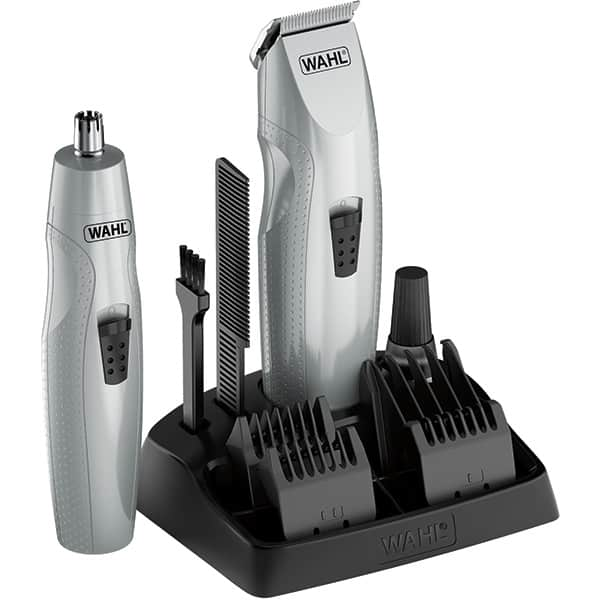 Trimmer barba WAHL 05606-308, baterie, gri