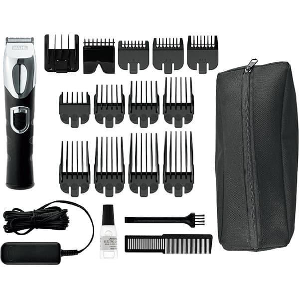 Aparat de tuns Grooming Kit WAHL 09854-2916, acumulator, 180 min, negru