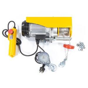 Palan electric DENZEL TF-500, 1020W, 500 kg, 10 m/min, galben