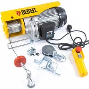 Palan electric DENZEL TF-1000, 1600W, 1000 kg, 8 m/min, galben