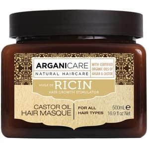 Masca de par ARGANICARE Ricin Oil, 500ml