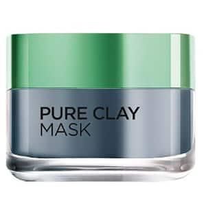 Masca de fata cu extract de carbune activ L'OREAL PARIS Pure Clay, 50ml