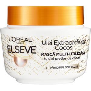 Masca de par ELSEVE Ulei Extraordinar cu ulei pretios de cocos, 300ml