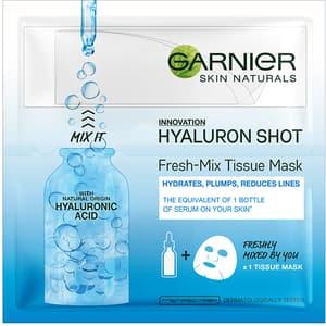 Masca de fata cu acid hialuronic GARNIER Skin Naturals Fresh-Mix, 33g