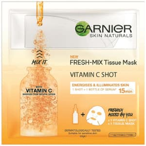 Masca de fata cu vitamina C GARNIER Skin Naturals Fresh-Mix, 33g