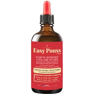 Elixir regenerant impotriva caderii parului cu aloe vera si kigelia EASY POUSS, 100ml