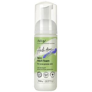 Spuma de curatare faciala pentru ten acneic KILIG Anti Acne, 150ml