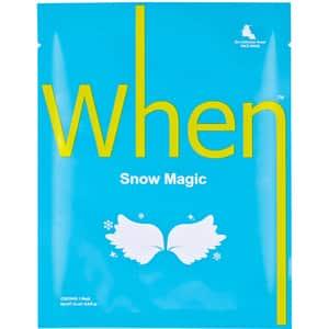 Masca de fata WHEN Snow Magic, 23ml