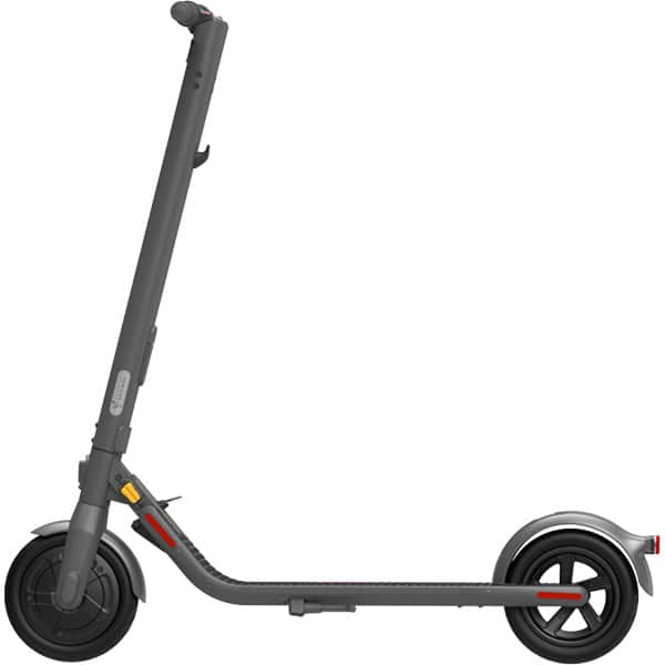 Trotineta electrica NINEBOT by Segway KickScooter E22E, 9 inch, pliabila, negru