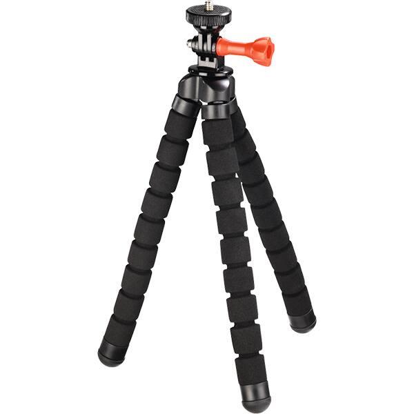 Mini trepied HAMA Flex 2in1 4314, 26cm, negru