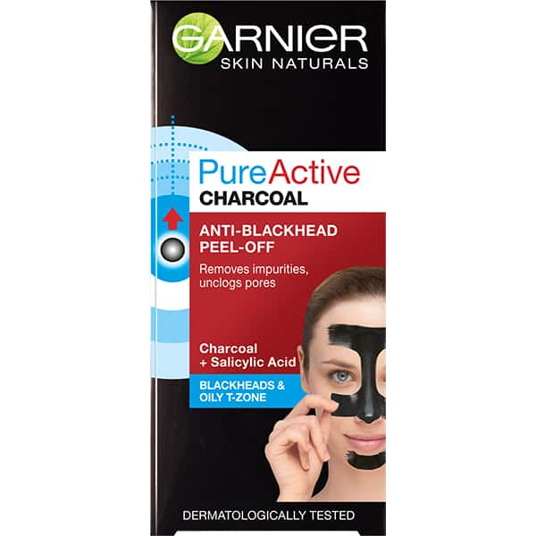 Masca de fata GARNIER  Skin Naturals Pure Active Charcoal, 50ml