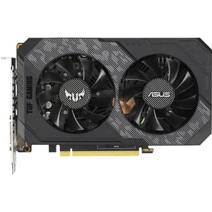 Placa video ASUS NVIDIA GeForce GTX 1660 OC TUF Gaming, 6GB GDDR5, 192bit, TUF-GTX1660-O6G-GAMING