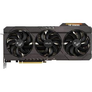 Placa video ASUS TUF Gaming NVIDIA GeForce RTX 3070 V2 OC Edition, 8GB GDDR6, 256bit