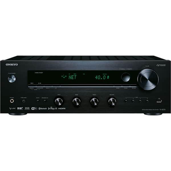 Network receiver stereo ONKYO TX-8270-B, 320W, Bluetooth, Wi-Fi, negru