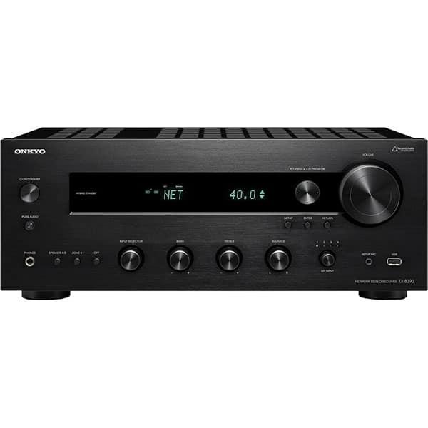 Network receiver stereo ONKYO TX-8390-B, 400W, Bluetooth, Wi-Fi, negru