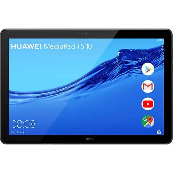 "Tableta HUAWEI MediaPad T5, 10.1"", 32GB, 2GB RAM, Wi-Fi + 4G, Black"